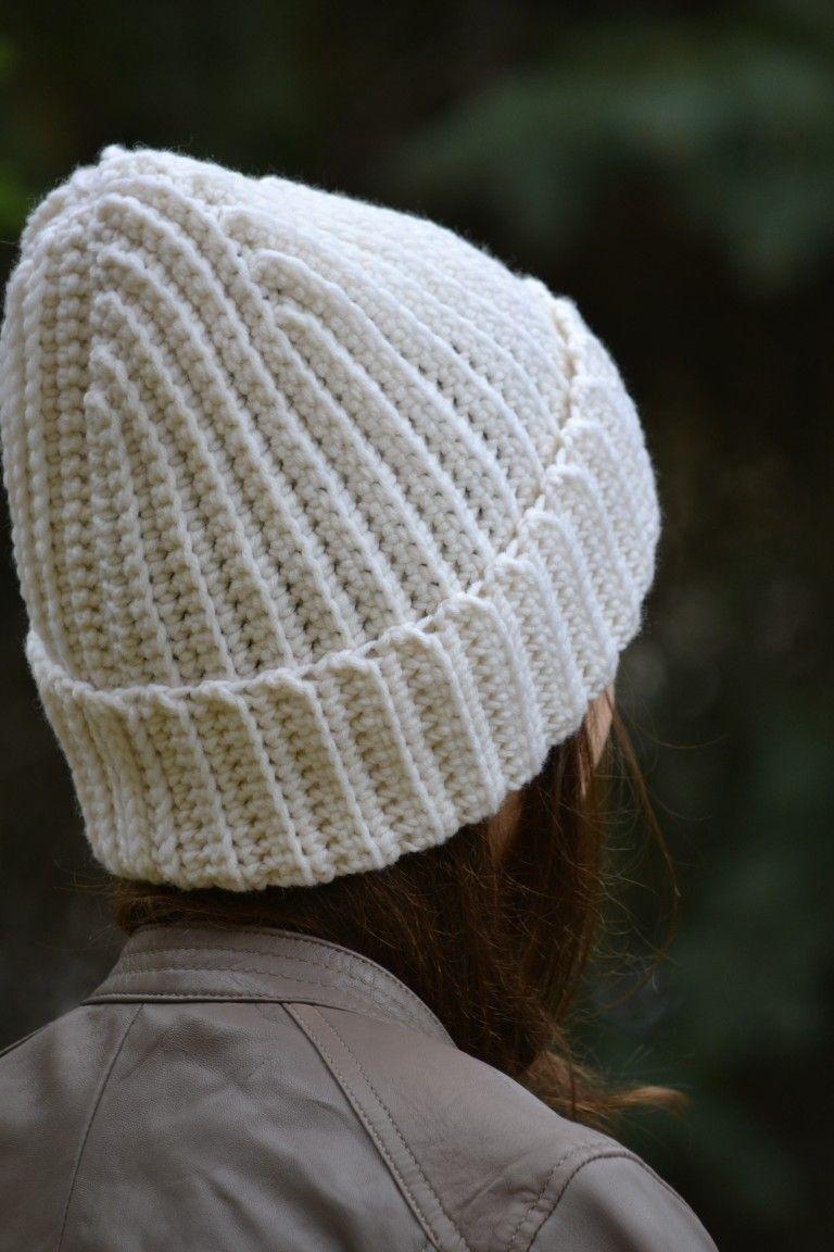 eb9da926e7 Women's white/milk hand knitted hat, Winter warm hat, White beanie ...