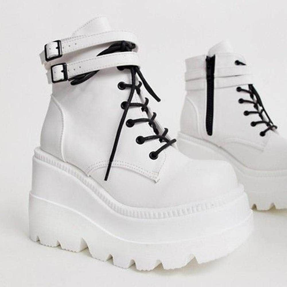 Kick Ass High Platform Boots