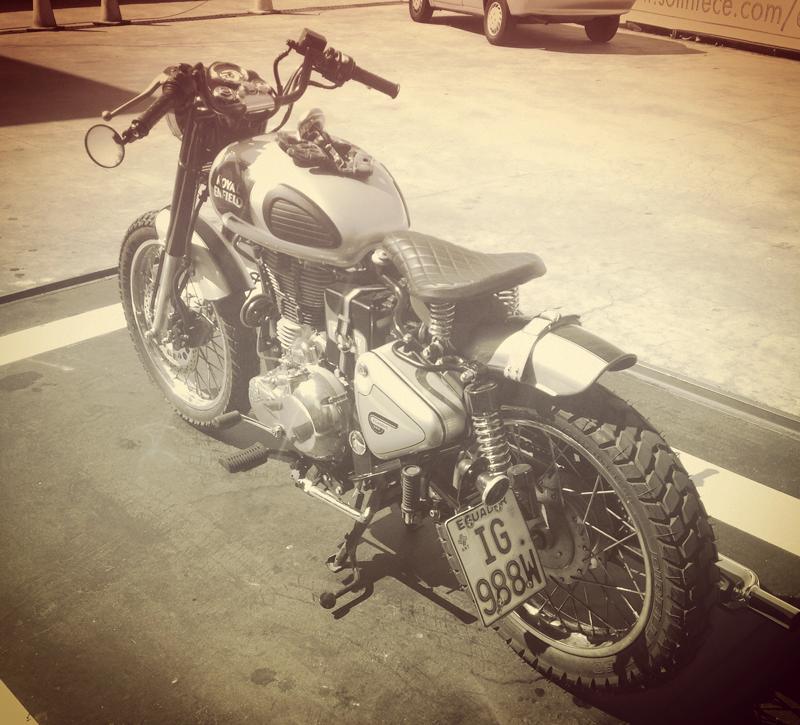 andysuarez23 (Instagram) Bullet500 classic Scrambler!