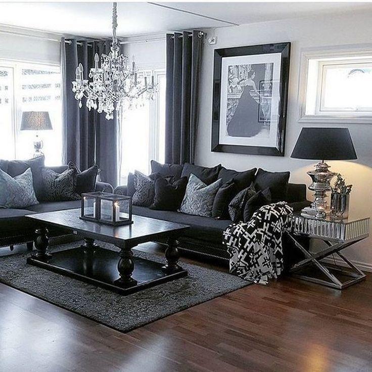 65 beautiful modern black white living room inspired on beautiful modern black white living room inspired id=34516