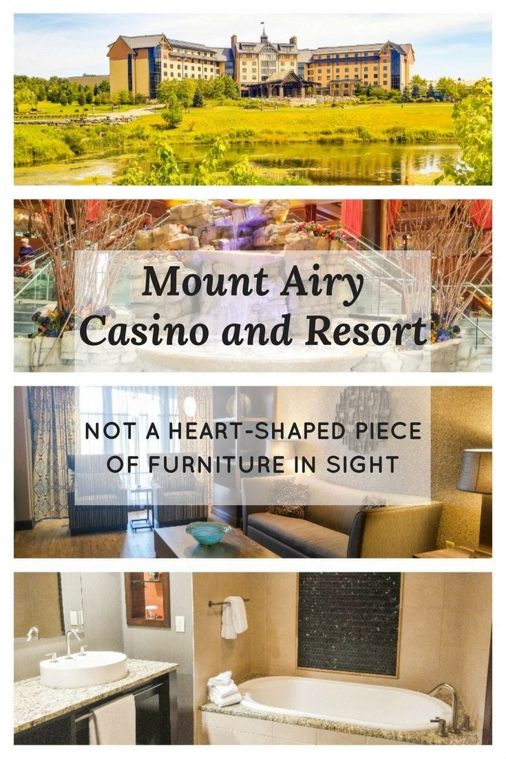 Mount Airy Casino and Resort: Not A Heart-Shaped Piece Of Furniture