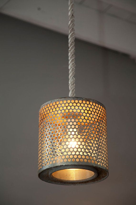 Air Filter Light on Rope by roughsouthhome on Etsy, $299.00