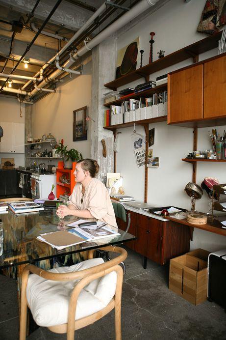 Freunde von Freunden — Johanna Burke — Set Designer, Apartment and Studio, Brooklyn, New York — http://www.freundevonfreunden.com/interviews/johanna-burke/