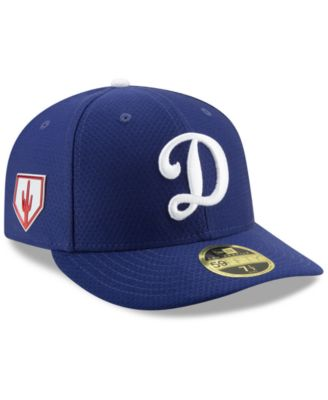 hot sale online 682df 15d80 New Era Los Angeles Dodgers Spring Training 59FIFTY-fitted Low Profile Cap  - Blue 8
