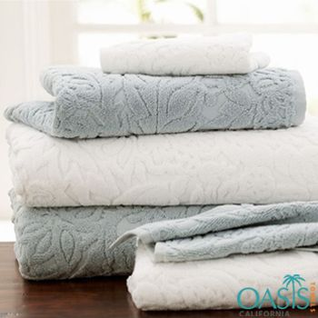 Bath Towels In Bulk Best Soft White And Grey Embossed Bath Towel Set  Bath Towels Wholesale Design Decoration