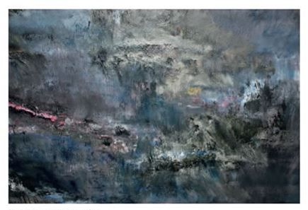 Paint Strokes Oil on Canvas  114 x 145 cm
