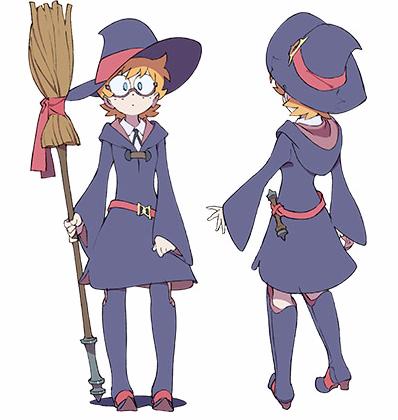 """Little Witch Academia"" Celebrates Halloween With TV Anime"