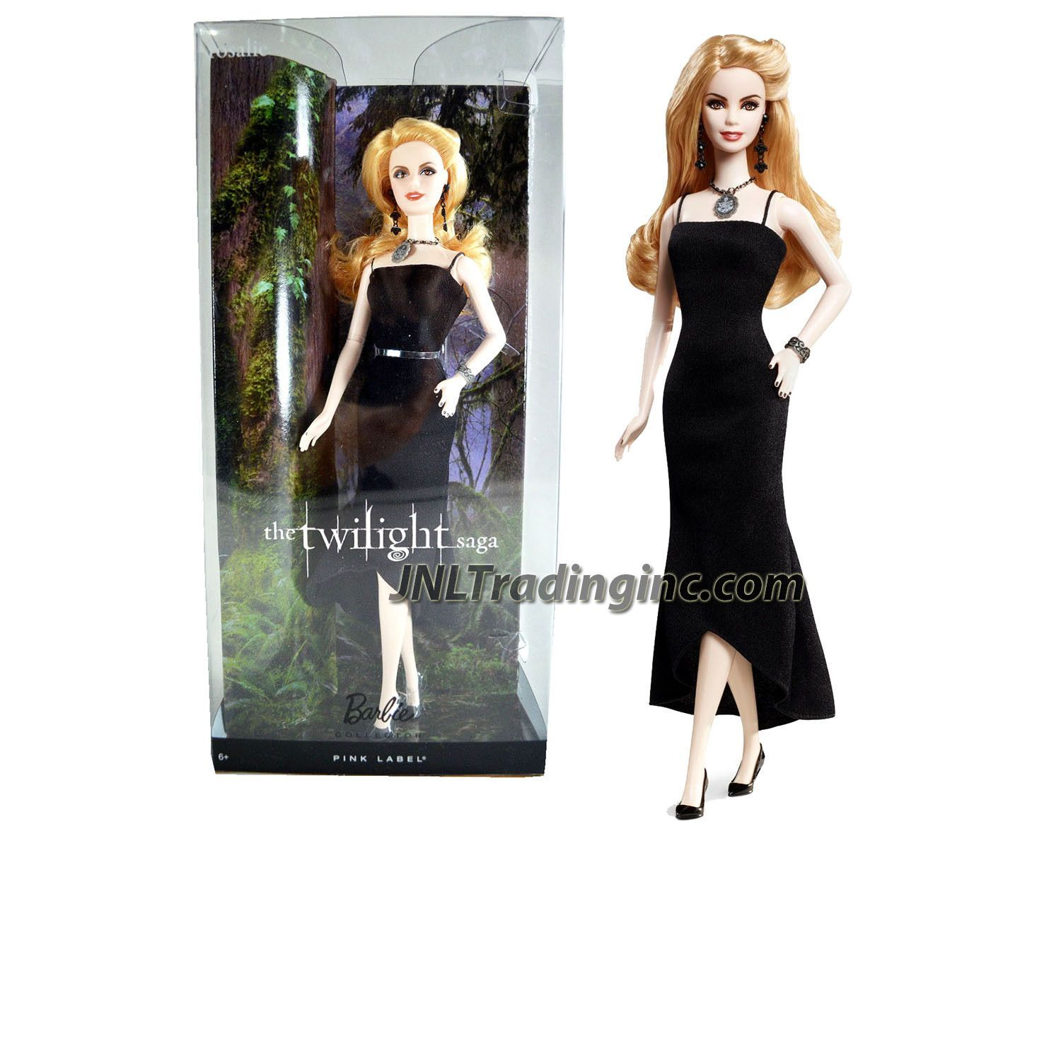 The Twilight Saga Emmett Collector Doll ~ Barbie Pink Label Collection ~ NEW