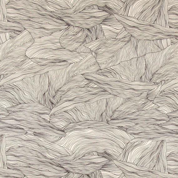 Scandinavian Fabric Black And White Fabric Curtain Fabric Trees Fabric Designer Fabric F Scandinavian Fabric Black And White Fabric Fabric Patterns Design