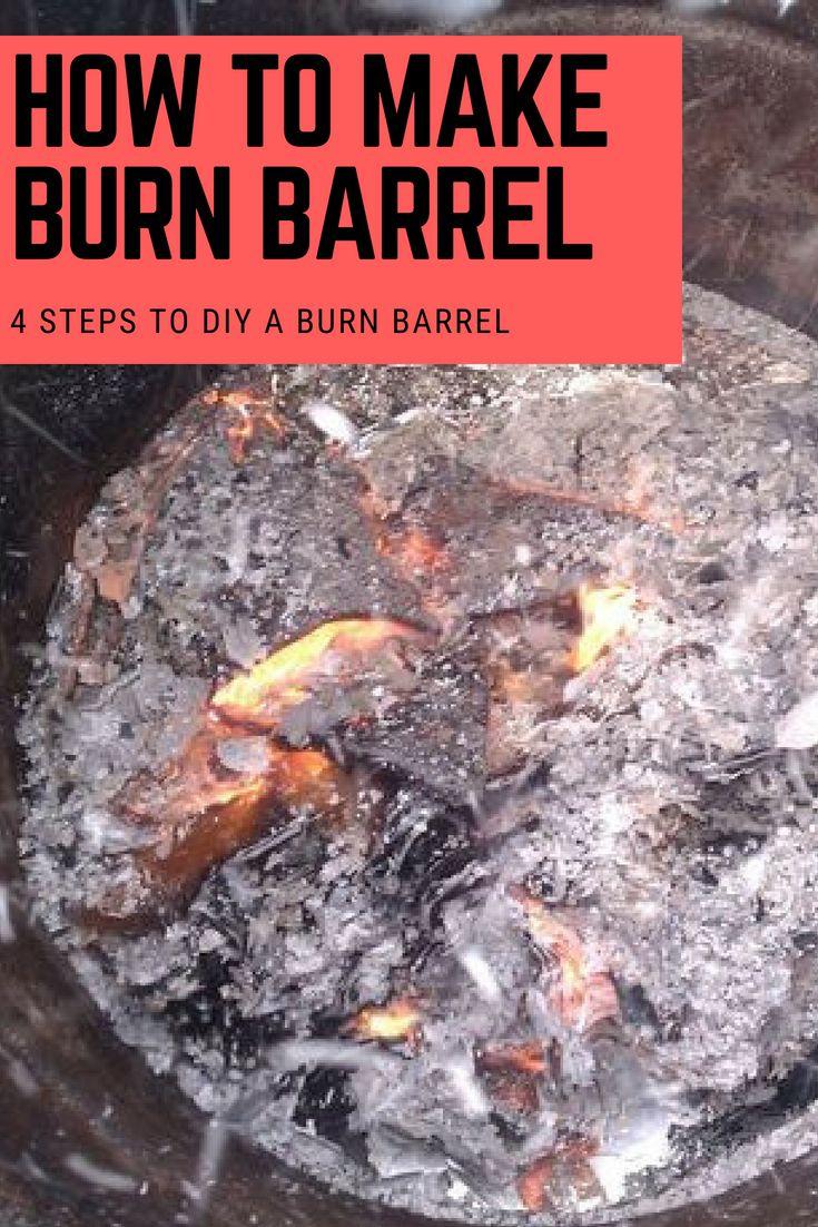 how to make a burn barrel burn hotter