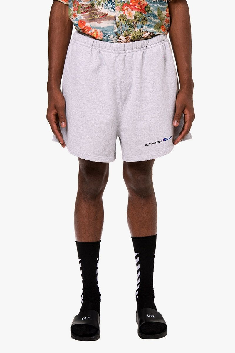 Off White X Champion Is Now Available Online