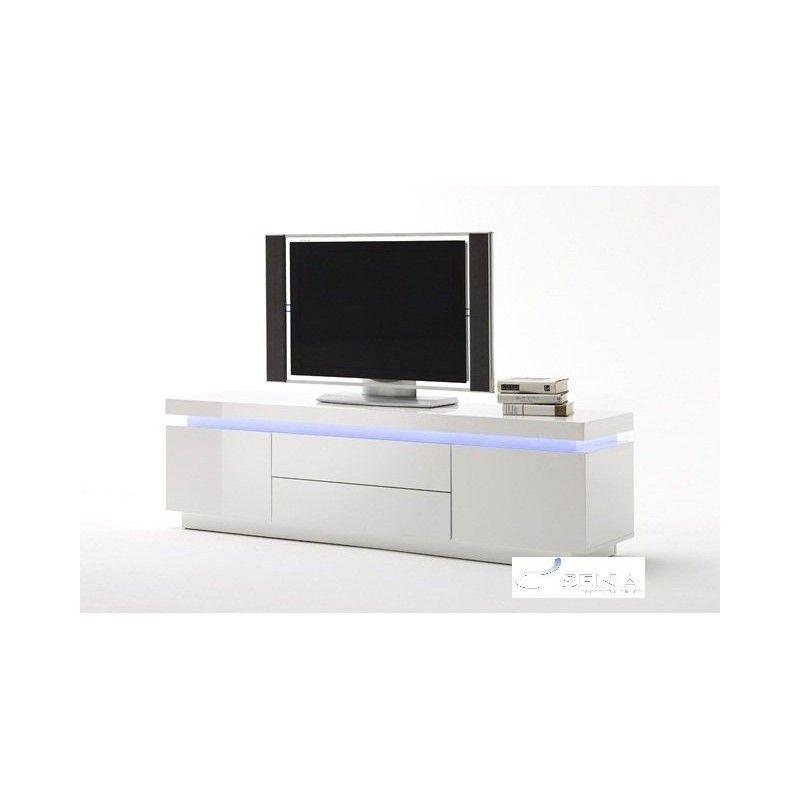 Avanti gloss tv unit with LED