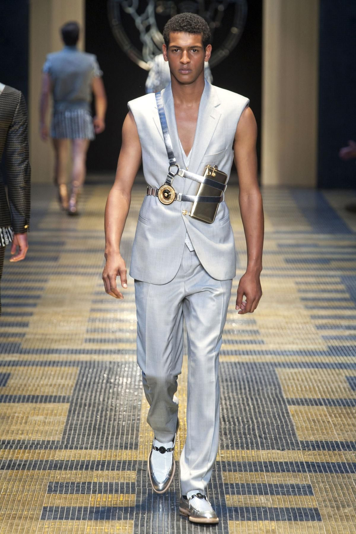 Versace Spring 2013 Menswear Collection - Fashion on TheCut