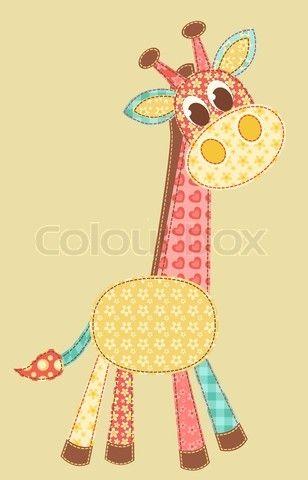 Patrones Patchwork Gratis Animales Trabajos Pinterest - Plantillas-patchwork-infantil