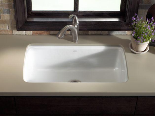 kohler k 5864 5u cape dory under mount kitchen sink with five rh pinterest com