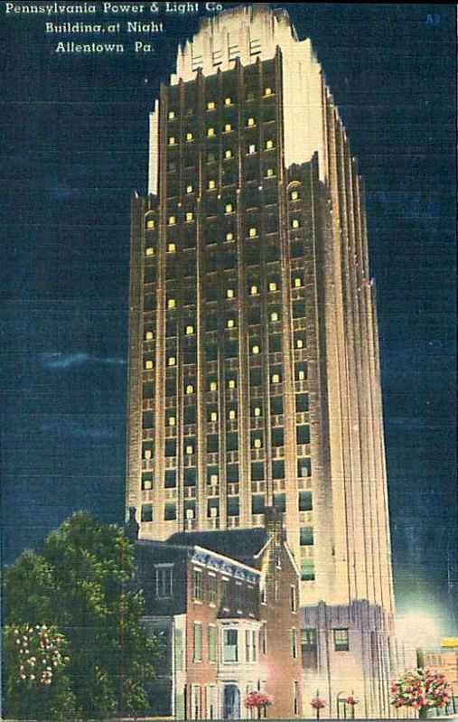 Pp L Building Allentown At Night Lehigh Valley Allentown Building