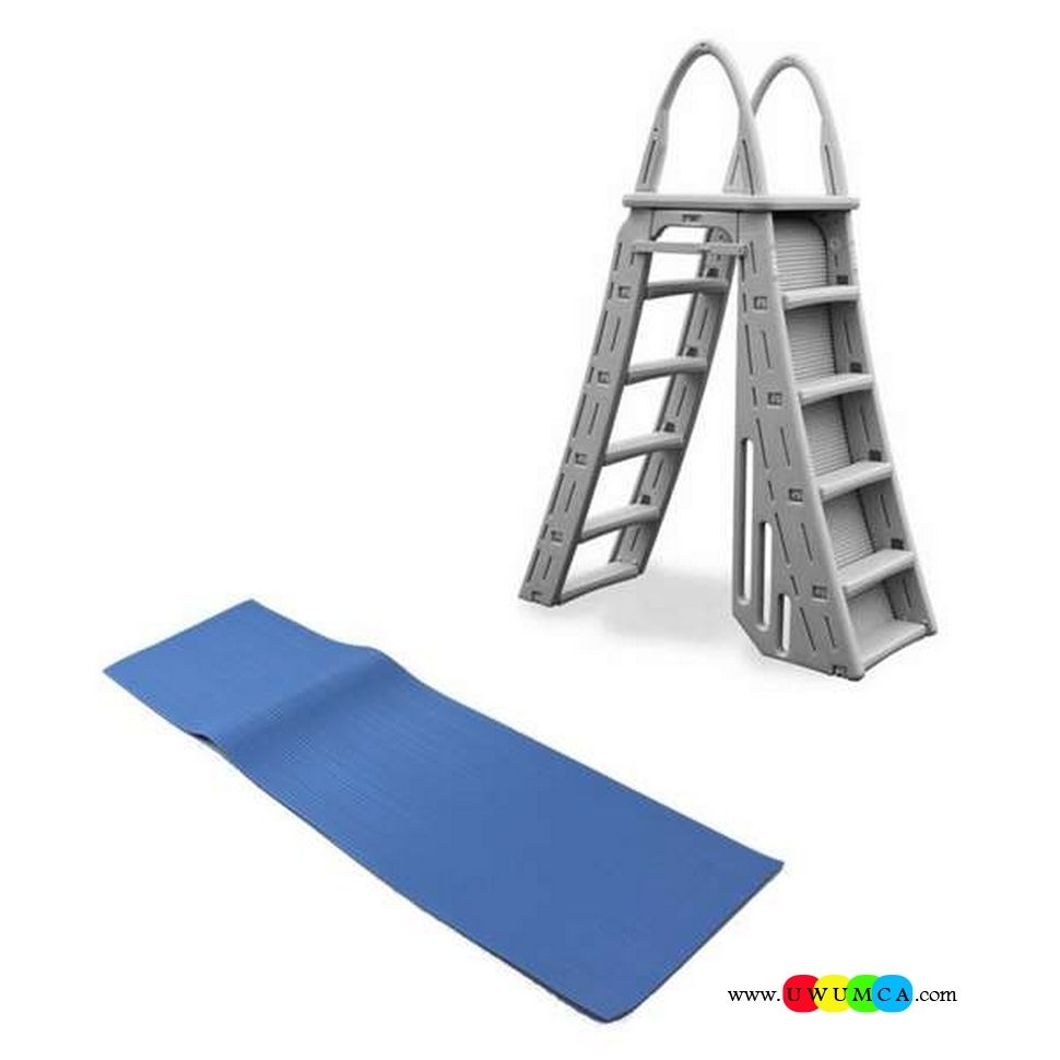 Above Ground Pool Pad Ideas find this pin and more on pool above ground ideas Swimming Poolswimming Pool Ladder Pads Above Ground Swimming Pool Ladder Pad Ladder For 30