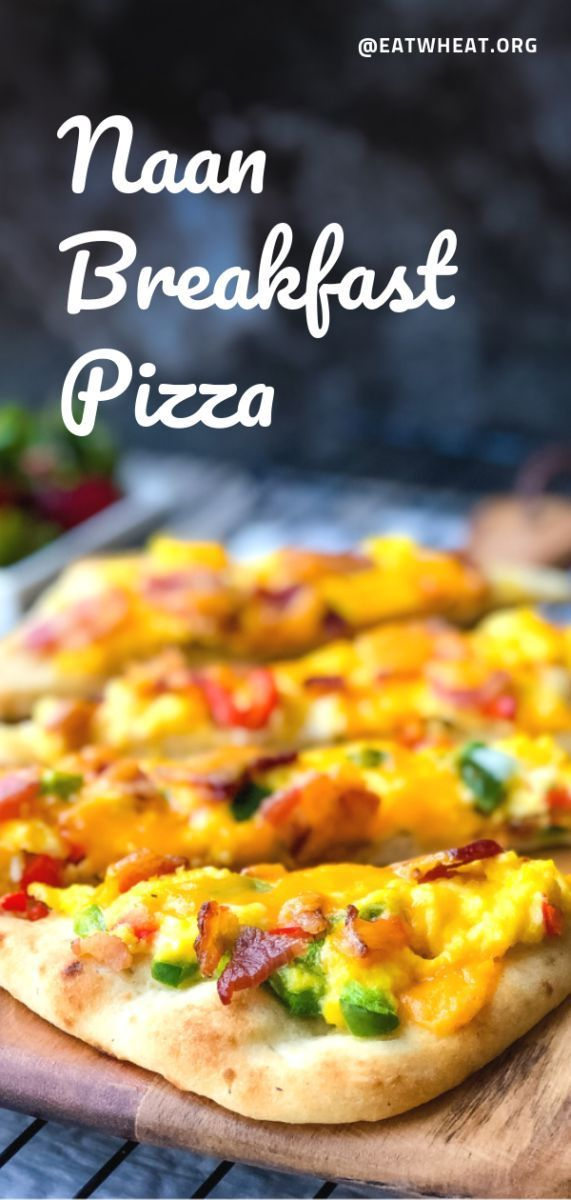 Breakfast Pizza with Eggs and Bacon | Eat WheatNaan Breakfast Pizza with Eggs and Bacon | Eat Wheat