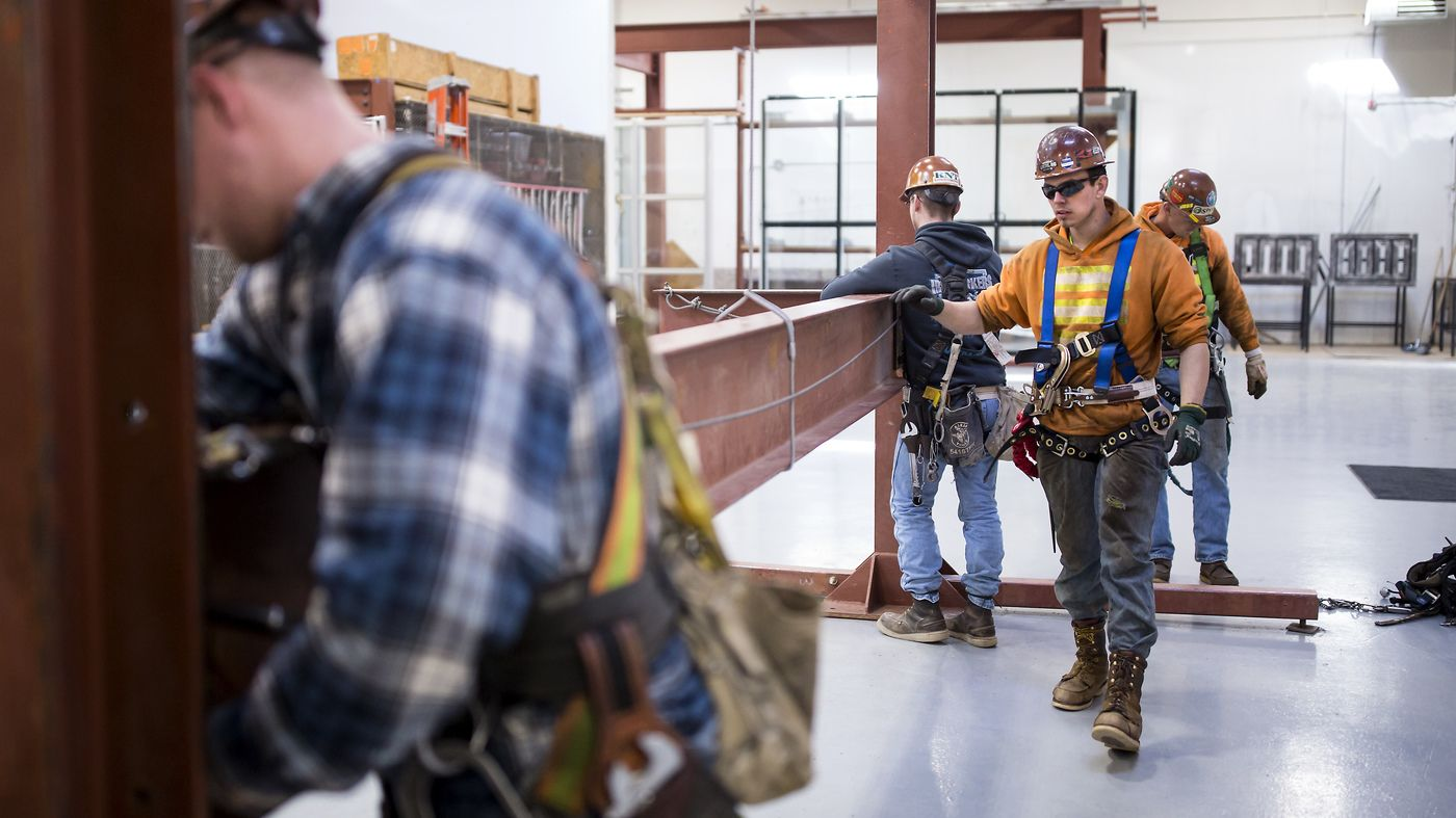 Construction trades offer women excellent pay and