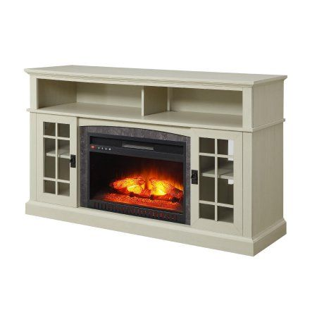 better homes and gardens mission media fireplace console for tvs up rh pinterest com