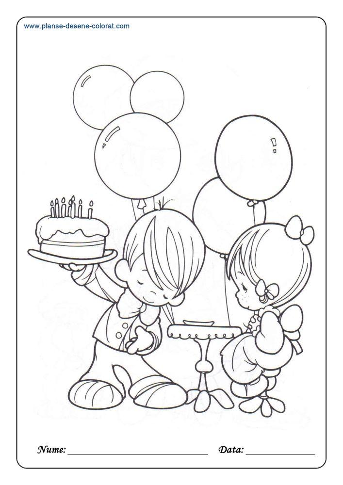 Desene De Colorat De Ziua Copilului 1 De Colorat