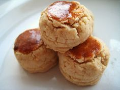 Traditional Chinese New Year Peanut Cookies (Fah Sang Peng)