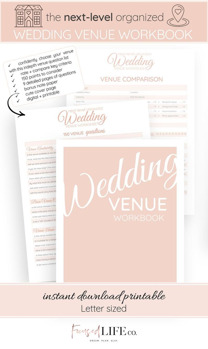 It's just a picture of Adorable Questions to Ask Wedding Venue Printable