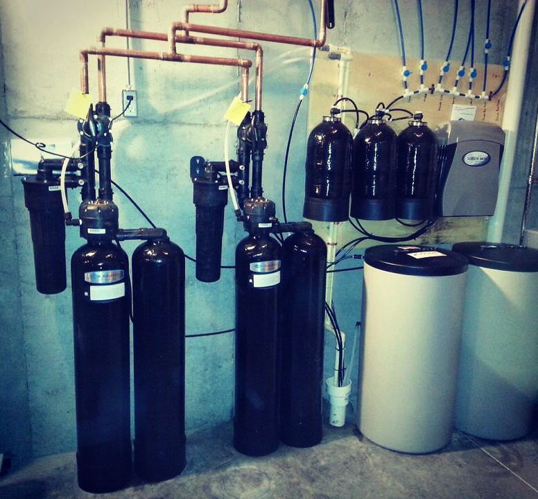 #kinetico Whole House Water Treatment Installation For 15,000 Square Foot  Home
