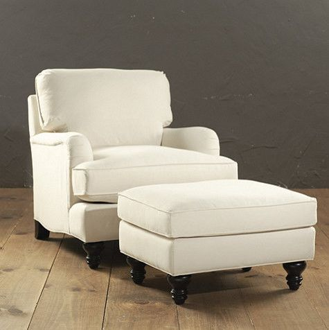 Exceptional Eton Club Chair U0026 Ottoman   Traditional   Chairs   Ballard Designs