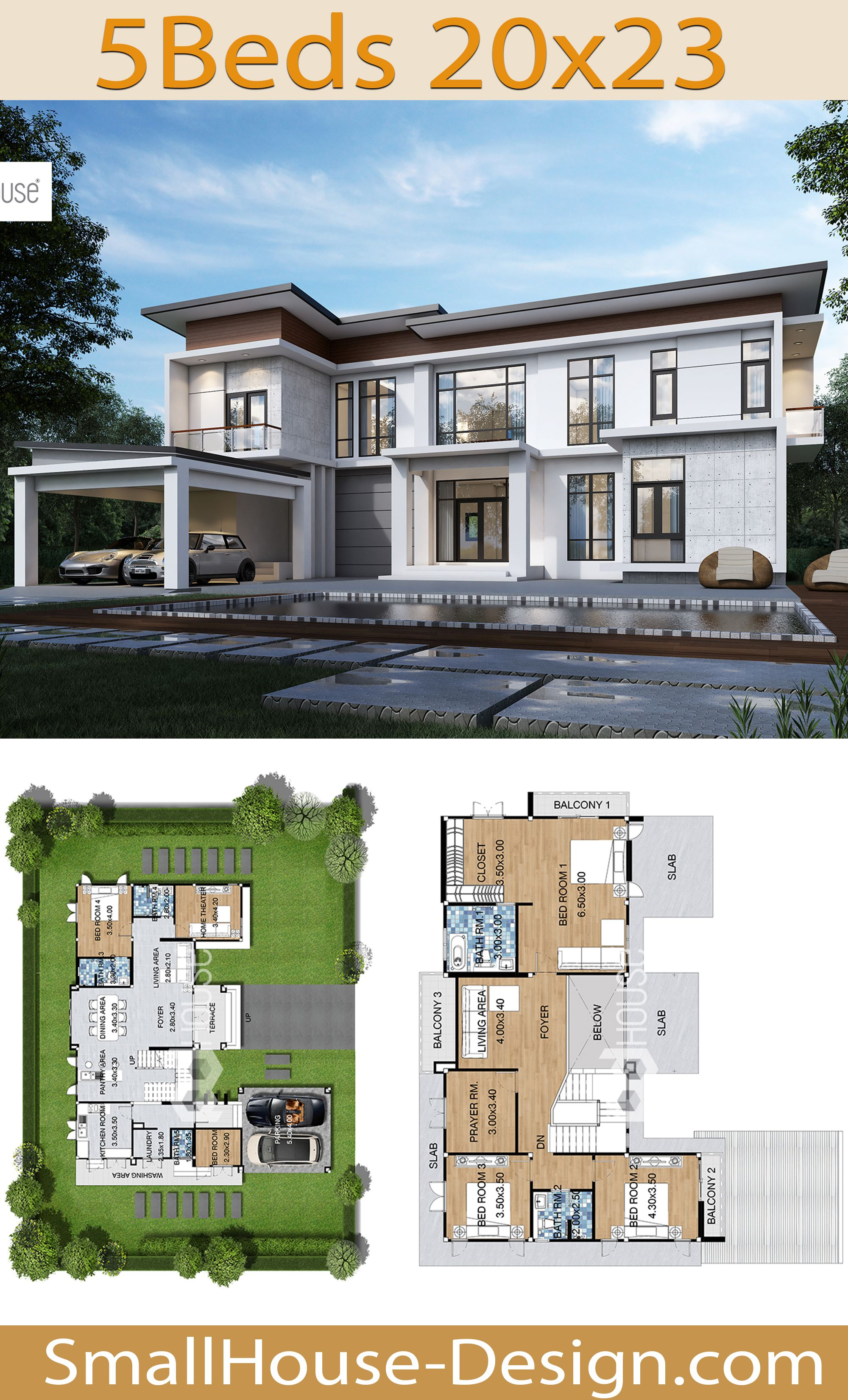 New House Design Plot 20x23 With 5 Bedrooms House Plans Mansion Architectural House Plans Dream House Plans