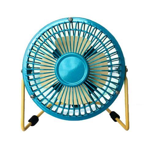 mini fan portable fan usb fan desktop fan blue and yellow 4inch rh za pinterest com