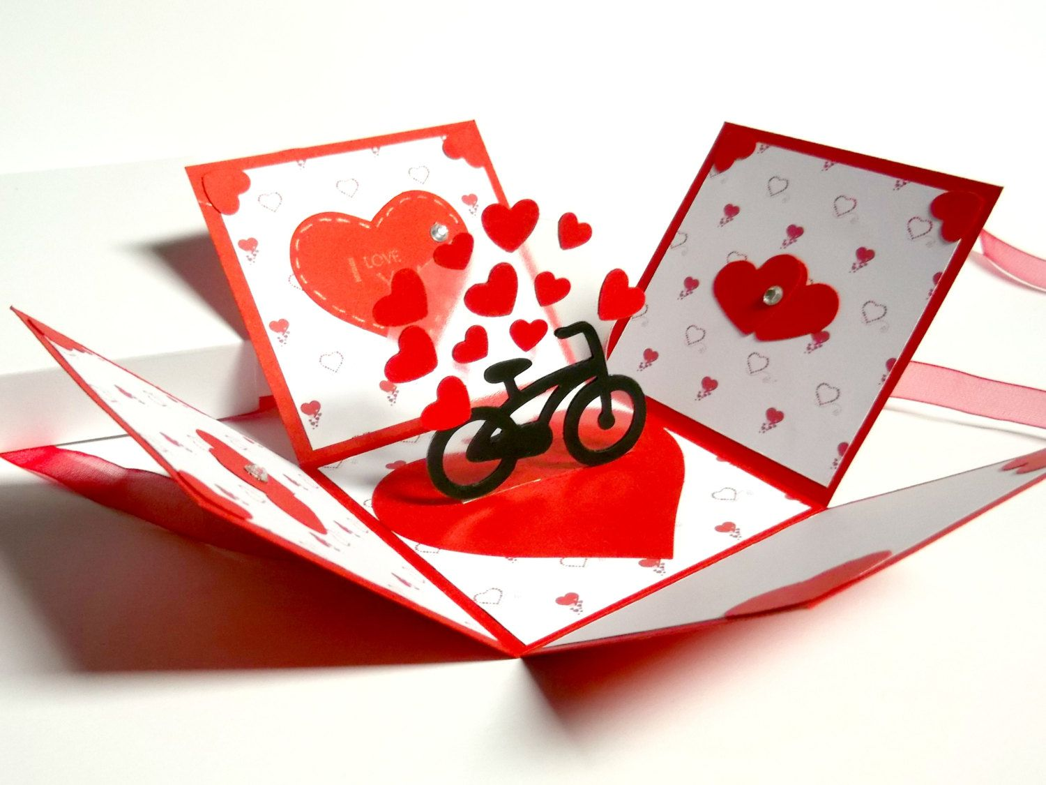 greeting card and gift for valentine's day anniversary