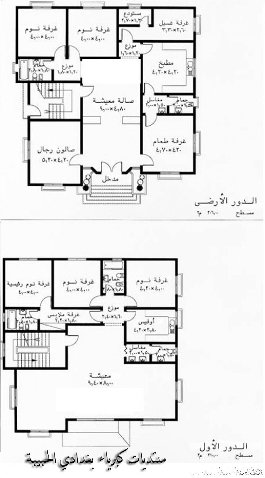 تصاميم منازل منوعة منتديات كبرياء بغدادي الحبيبة اجمل منتدى عربي Square House Plans My House Plans 2bhk House Plan