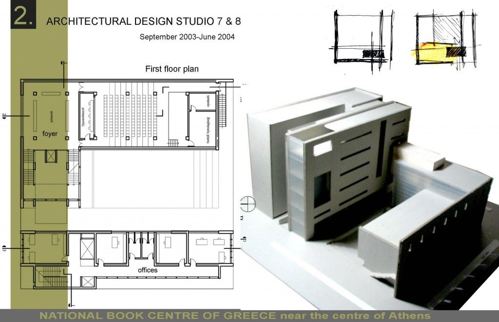 Architecture thesis book sample