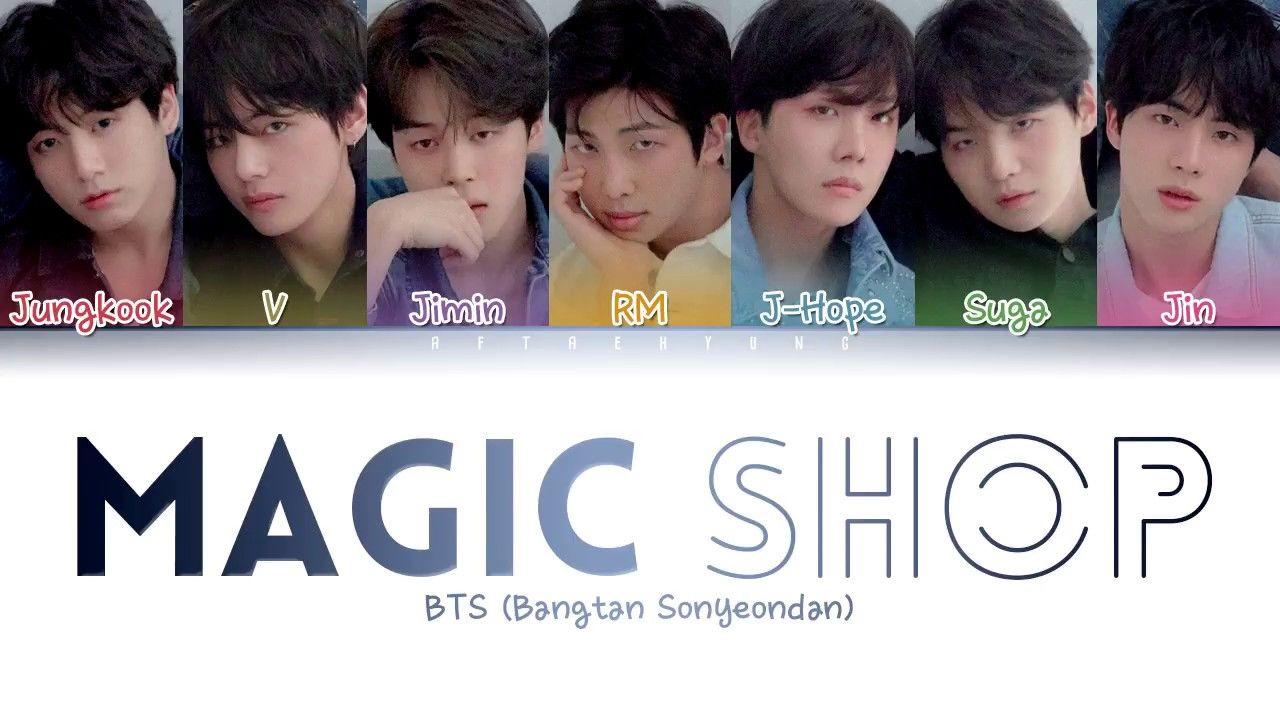 download video lirik lagu bts magic shop