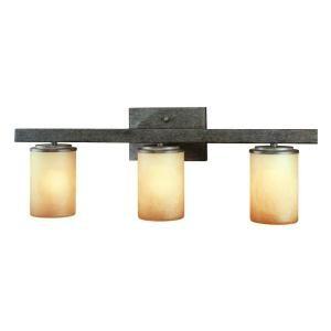 hampton bay alta loma 3 light dark ridge bronze bath light 25056 rh pinterest com