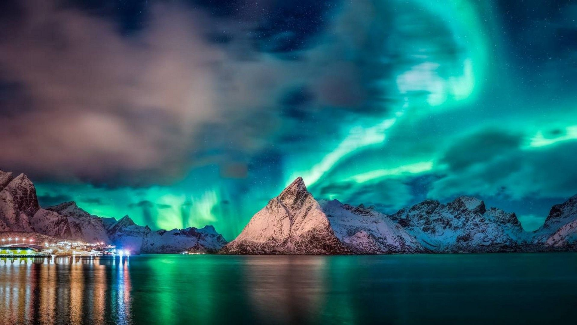 Aurora HD Wallpaper Night skies, Live wallpapers, Hd