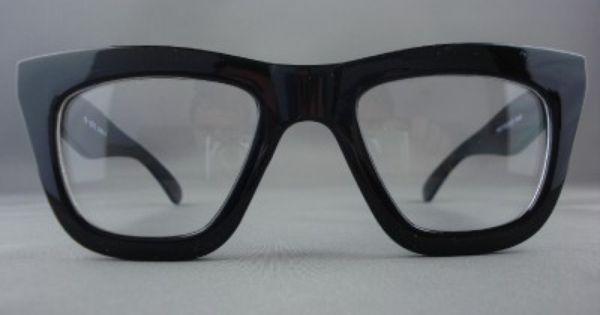 561e6f86af SASQUATCHFABRIX Black Polished Thick-Frame Optical Glasses - Google Search