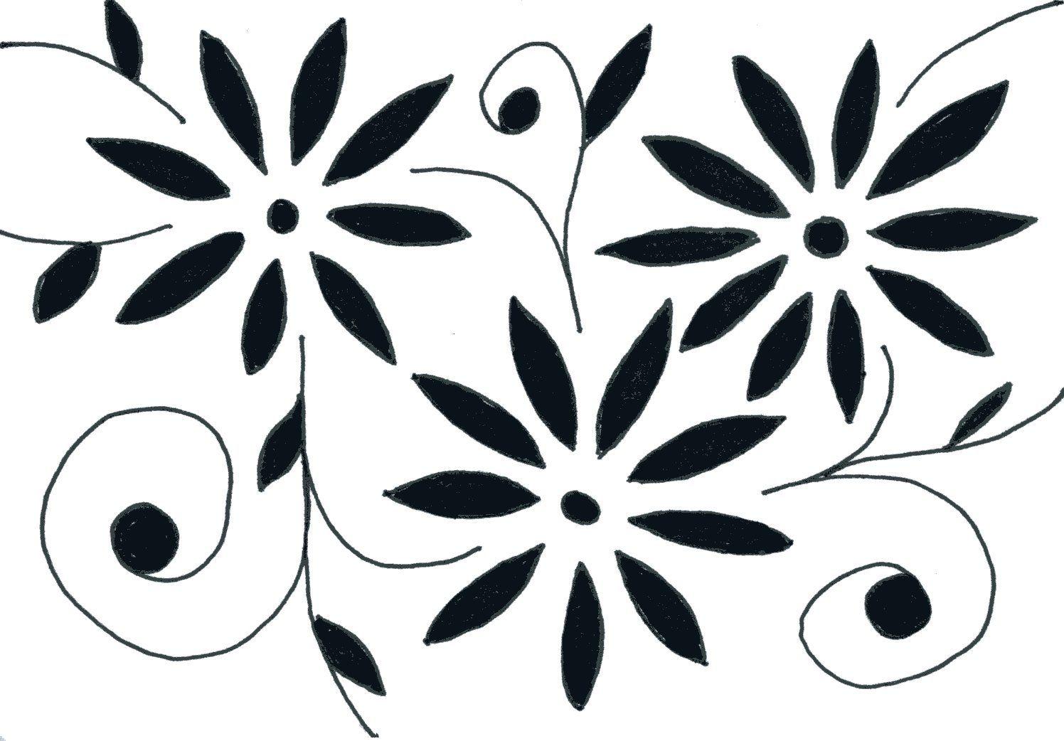Flowers Flower Drawing Design Flower Drawing Simple Flower Drawing