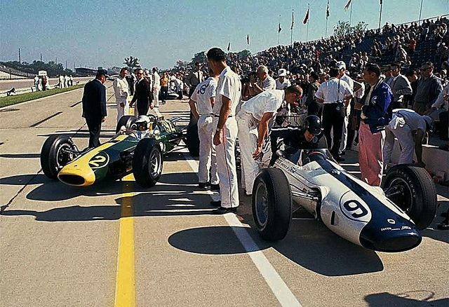 Clark & Gurney 1963 Indy 500 Lotus 29