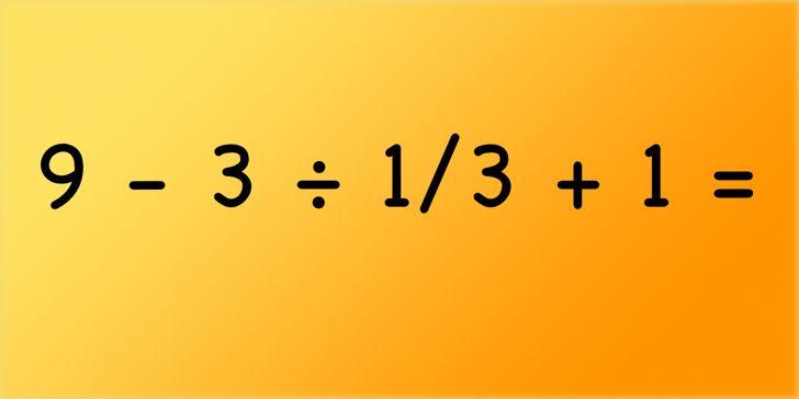 Te atreves a intentar resolver este problema matemático?