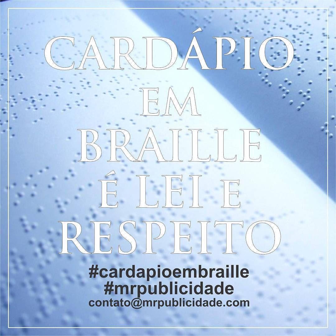Shared by mrpublicidade #braille #doitbraille (o) http://ift.tt/1SqMuA8 em Braille.  Legalize o seu estabelecimento e contribua com a inclusão social. Amor respeito e igualdade acima de tudo.  contato@mrpublicidade.com  #cardapioembraille  #cardapiobraille  #inclusao  #inclusaosocial  #instafood #mrpublicidade