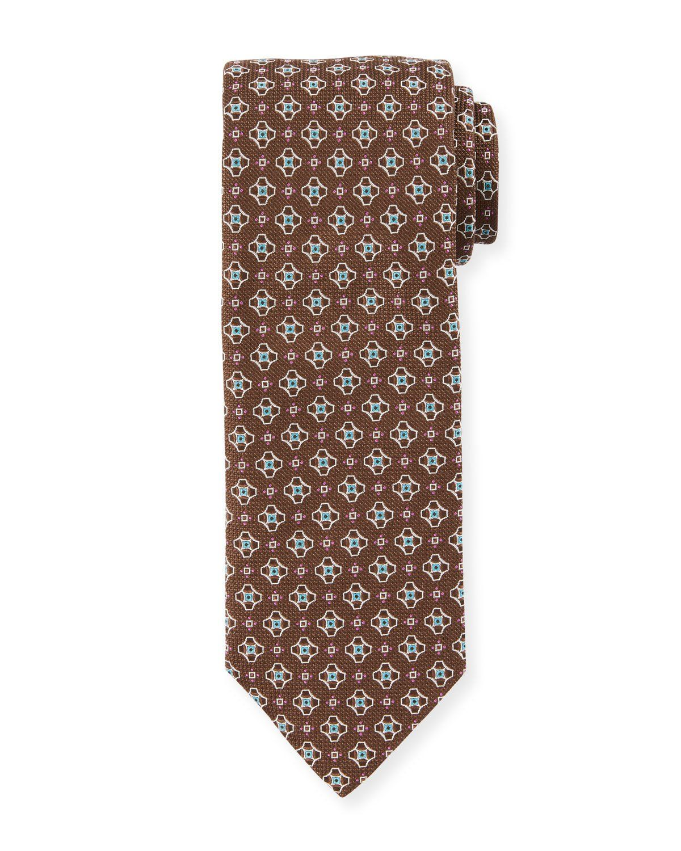 Eton Mens Medallion Tie