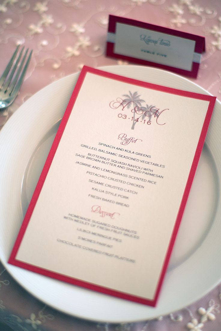 wedding celebration invitation%0A Here is what is on the menu for tonight u    s wedding reception  Photo by   cjevans