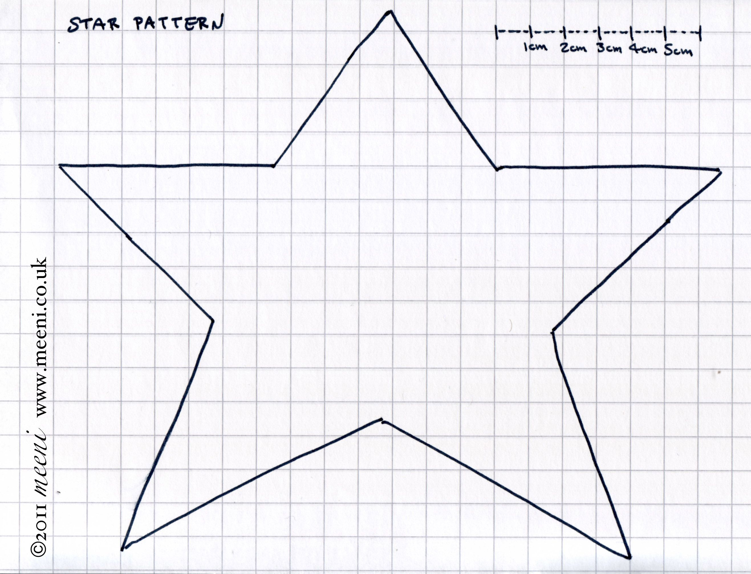 Free Primitive Star Template
