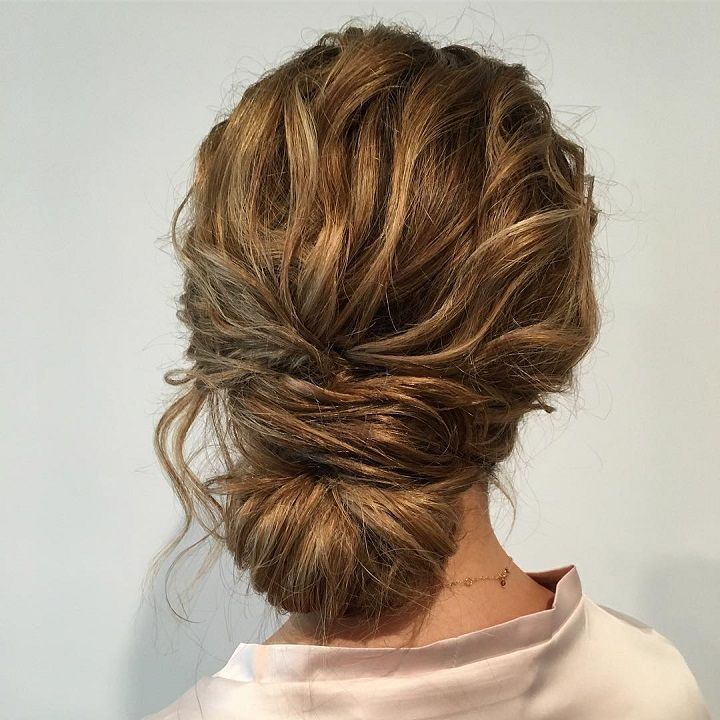 loose updos | pretty messy wedding updo hairstyle,updo hairstyle ...