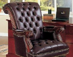traditional leather office chair - executive leather office chair