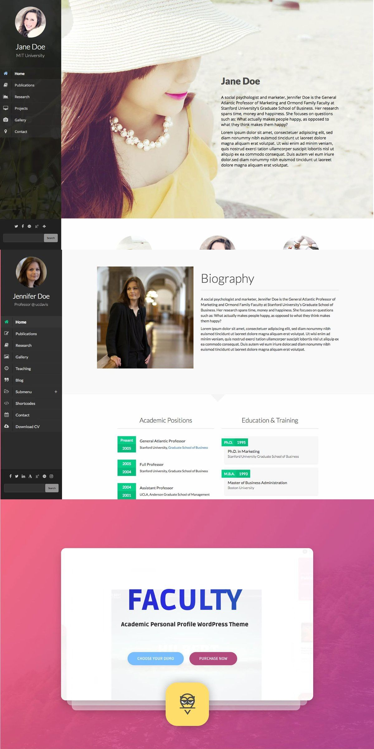 Faculty Wordpress Theme Pretty Web Design Wordpress Theme Faculties