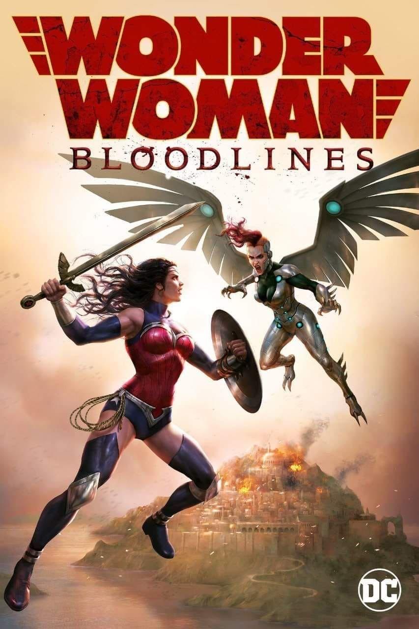 3520 Wonder Woman Bloodlines (2019) 720p WEBRip Animated