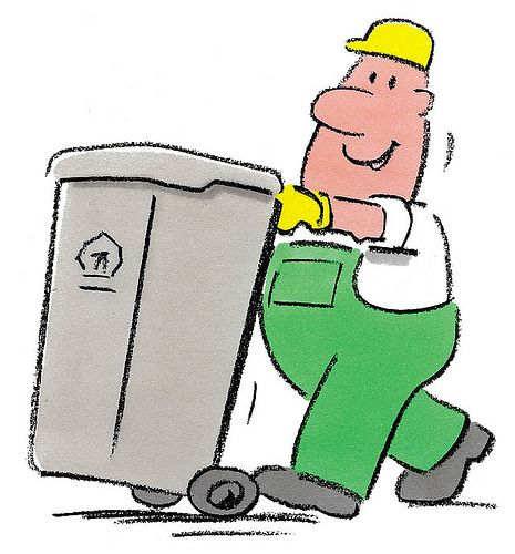 Garbage Man Cartoon Garbage Collector Gift Ideas